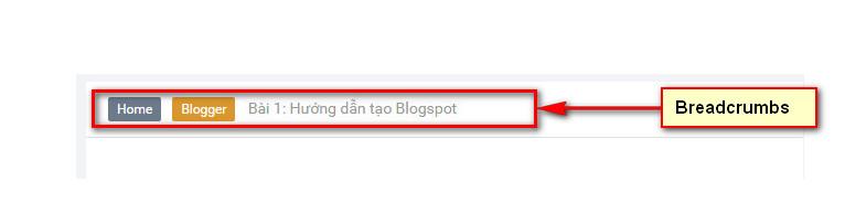Huong Dan Tao Breadcrumbs Cho Blogspot