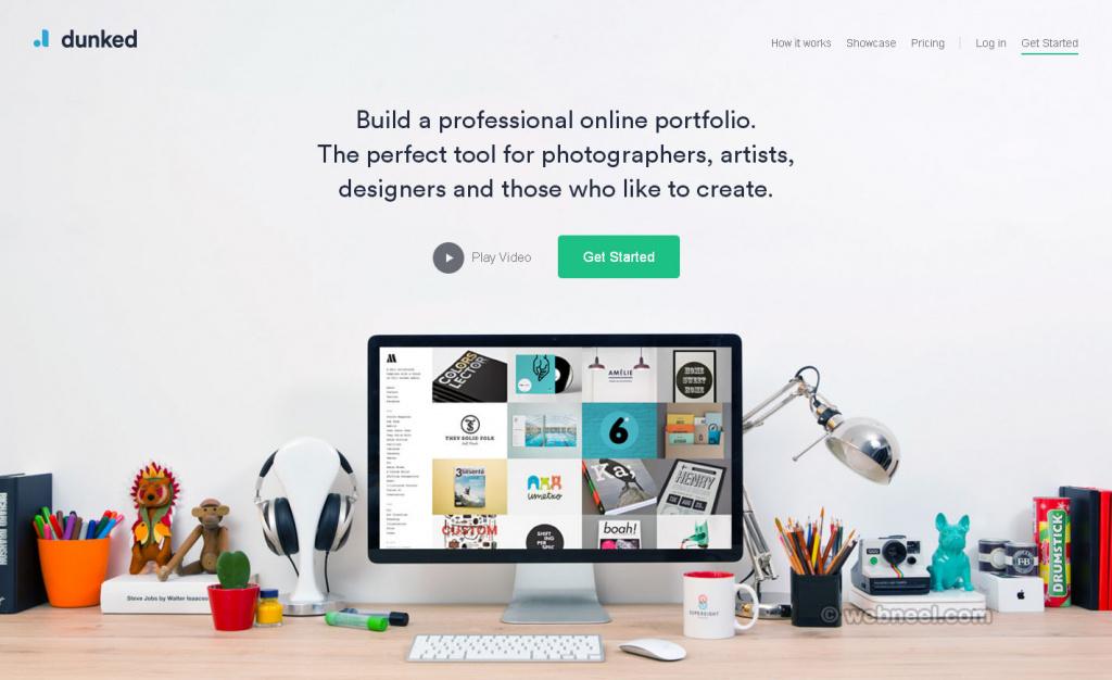29 Beautiful Website Design Dunked Free Portfolio
