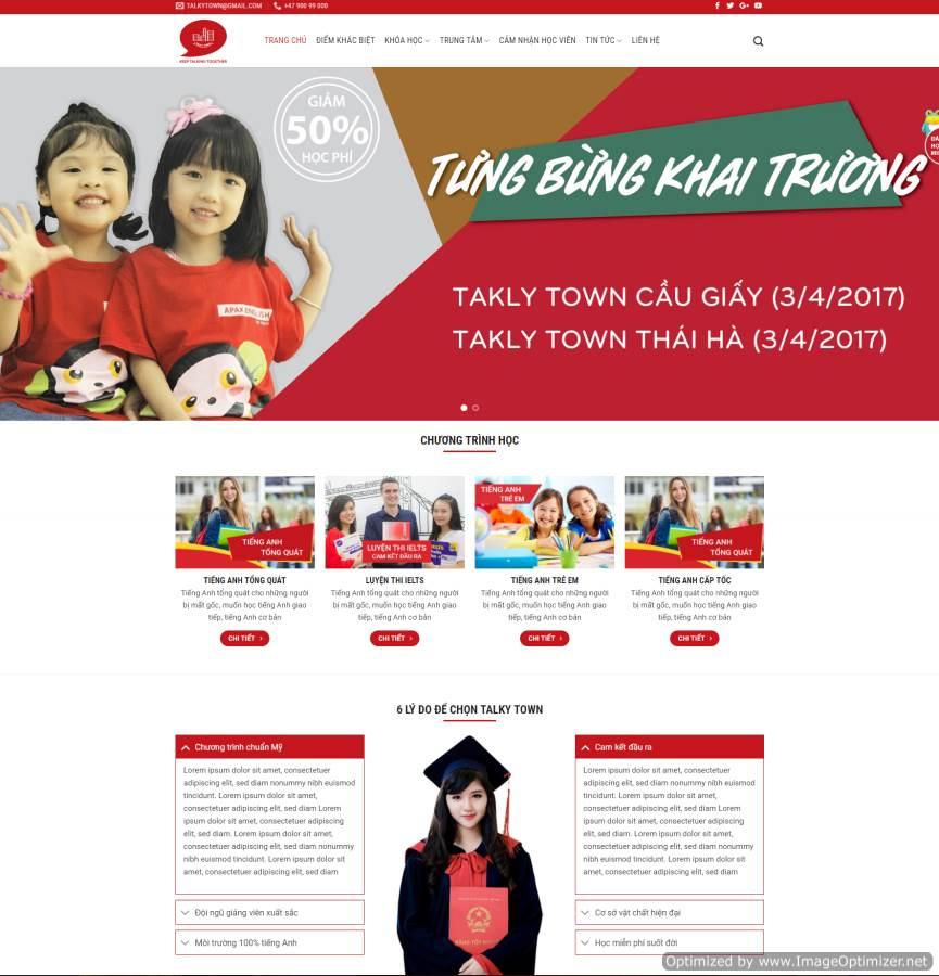 Thiết kế web Thái Bình