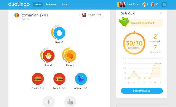 545597 Duolingo Web App 2021
