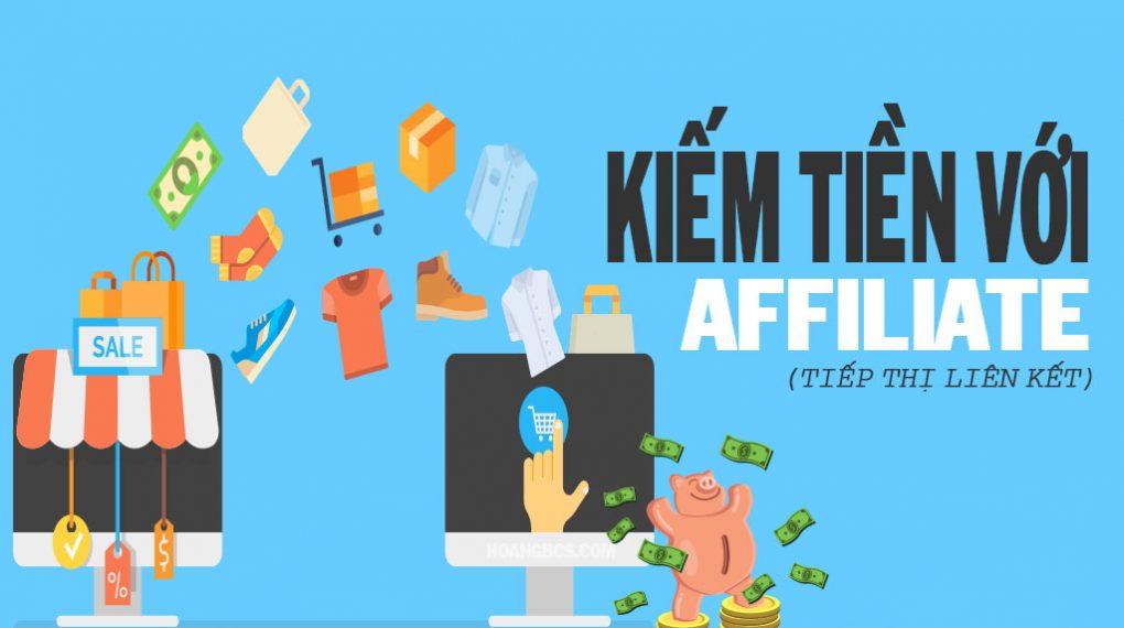 Kết quả hình ảnh cho kiếm tiền affiliate marketing