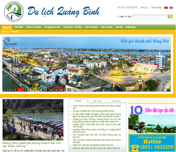 Thiet ke web Dong Hoi, Quang Binh