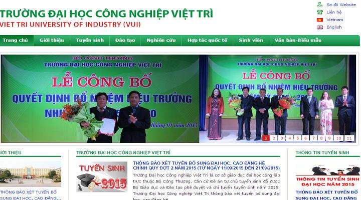 Dai Hoc Cong Nghiep Viet Tri