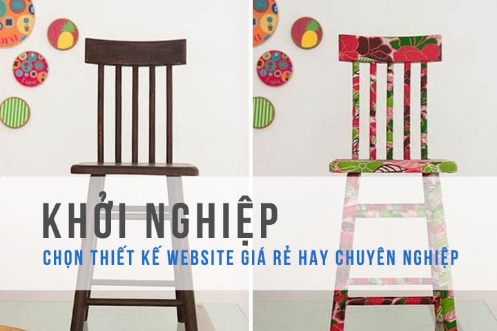 Khoi Nghiep Chon Website Gia Re Hay Chuyen Nghiep
