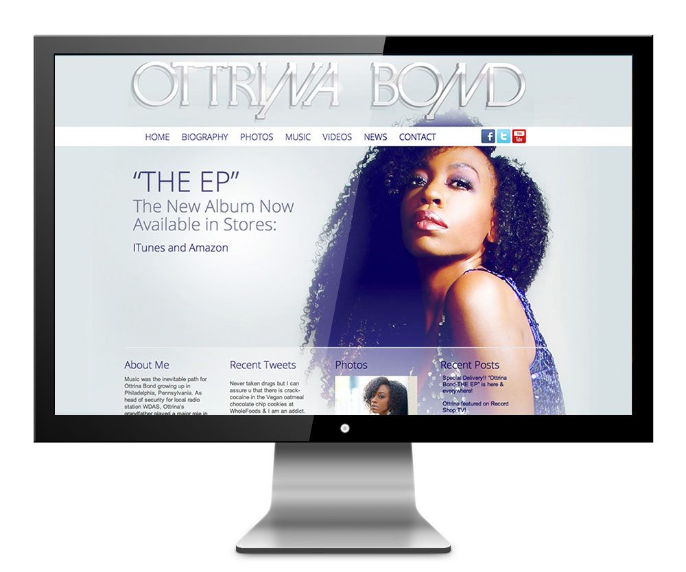 Otrina Bond Websitedesign 2