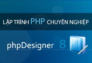 PHPdesigner là phần mềm hỗ trợ thiết kế web chuyên về web PHP