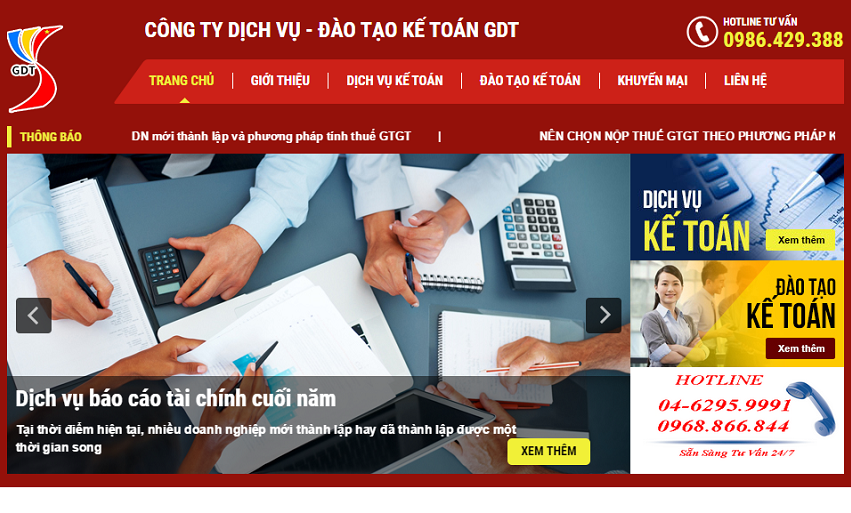 Thiet Ke Website Ke Toan1