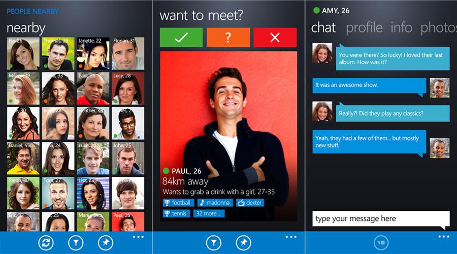 Badoo Wp8 App