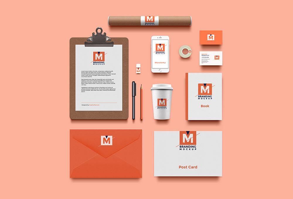 Branding Mockup Psd