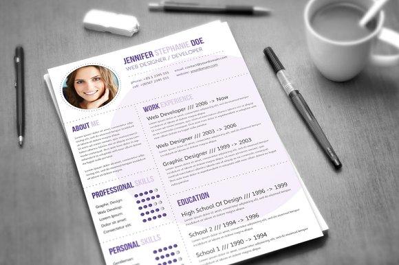 Circle Resume