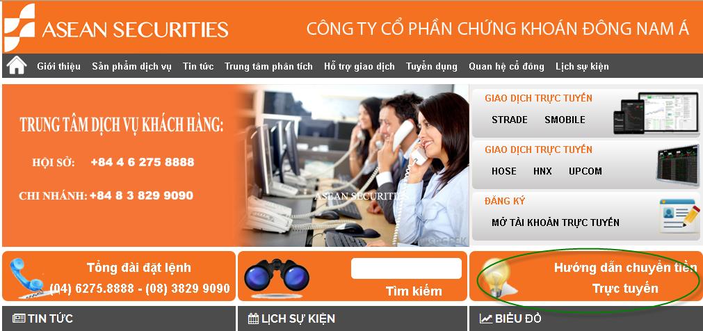 Trang Chu GDTT Chuyen Tien