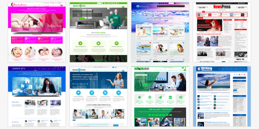 Business Websites 1000x500