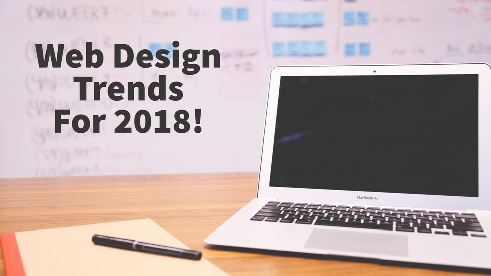 Web Design Trends In 2018