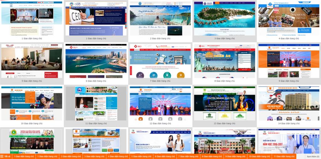 Giao Dien Website Truong Hoc