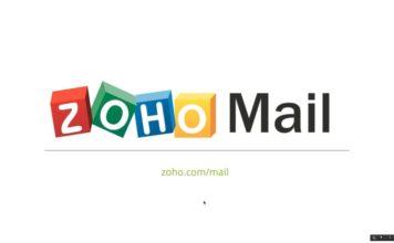 Điểm khác biệt của Zoho là cho phép bạn sử dụng tên miền riêng ngay khi đăng ký mà không cần phải thông qua một dịch vụ khác