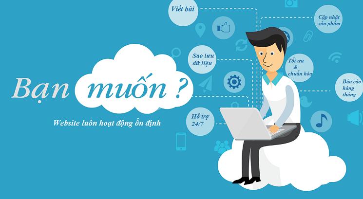Dich Vu Quan Tri Website