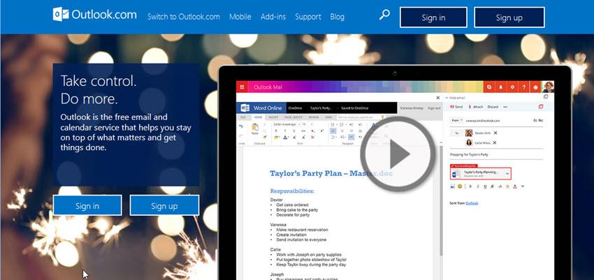 Theo một thống kê từ Microsoft, Outlook đã có hơn 400 triệu người dùng vào năm 2016