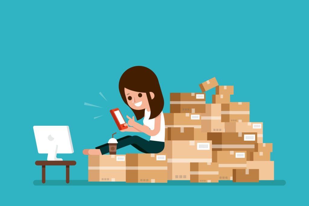 sell physical items online 1024x683 - Tiêu chí và cách lựa chọn mặt hàng bán online dễ thành công