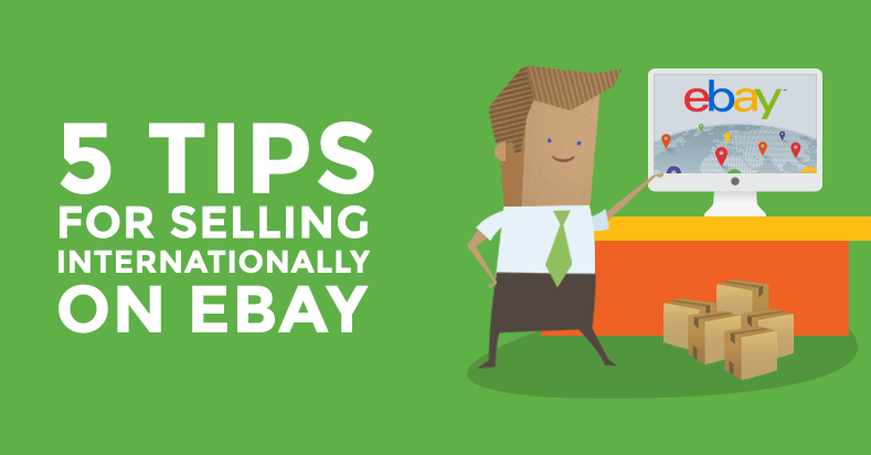 Selling International Ebay