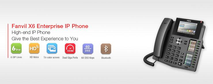 Ip Phone La Gi Dien Thoai Ip Fanvil X6 Co Nhieu Tinh Nang Noi Troi Vctel Lapdattongdaigiare 1