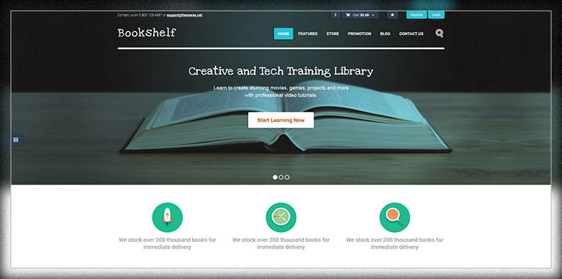Bookshelf Books Media Online Store