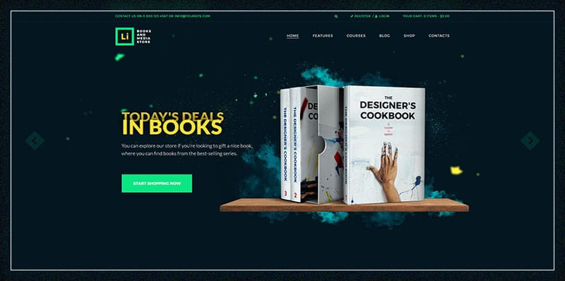Lorem Ipsum Books Media Store
