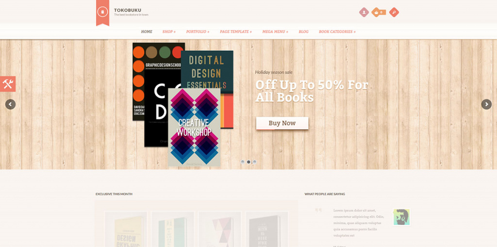 Raakbookoo Woocommerce Theme For Book Store