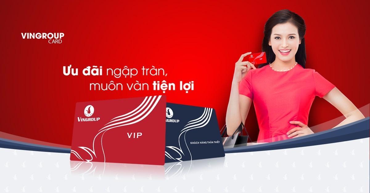 Thẻ VinID mang đến cho bạn rất nhiều ưu đãi.